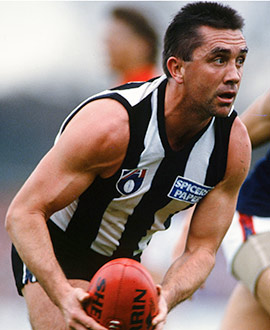 Tony Shaw captained the club for seven seasons from 1987 to 1993.