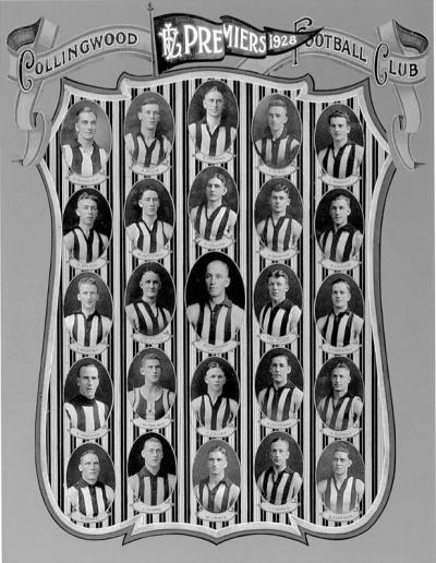 1928 Premiership Team