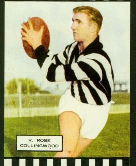 Bob Rose playing card.