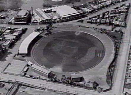 An aerial shot of Victoria Park from 1929.