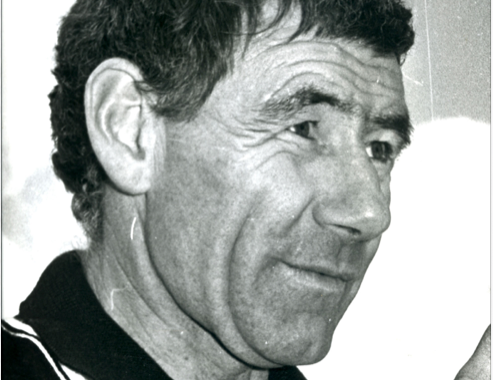 Tom Hafey coaching for Collingwood in the 1980s