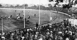 First match at Victoria Park