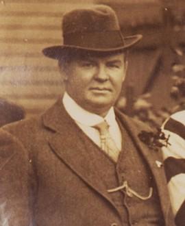 Ernest 'Bud' Copeland played a key role as secretary of the club.
