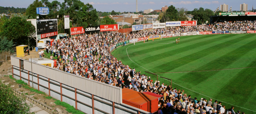 A view of Victoria Park from the round three match against West Coast in 1999.