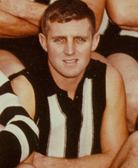 Mick Bone: A man who 'went in fearlessly and generally upset his opponents with his willingness to mix it'.