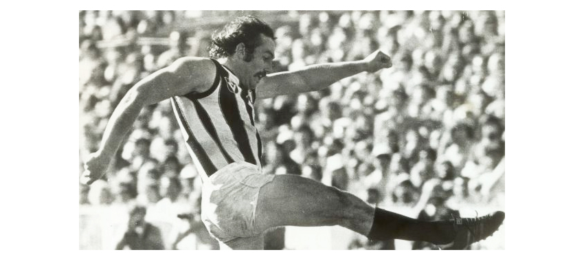 Phil Manassa played 122 games for Collingwood between 1973 and 1979.