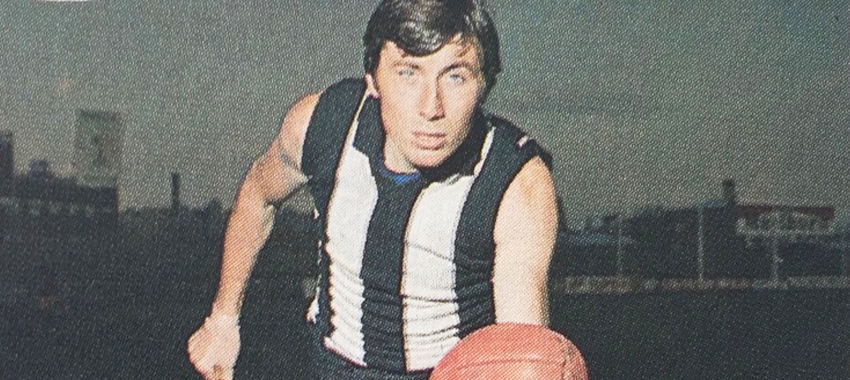 Big Bob, or 'Stretch' or 'Lurch' as he was known, was the second tallest footballer in VFL history when he made his Magpie debut.