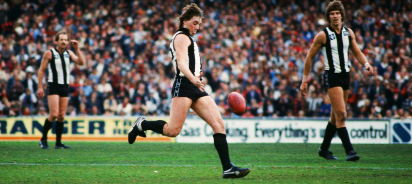 Bill Picken played 212 games for Collingwood between 1974 and 1983, as well as during one final stint in 1986.