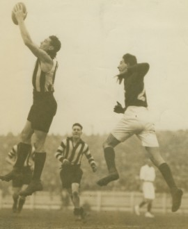 George 'Kitty' Clayden played 134 games for Collingwood between 1924 and 1933.