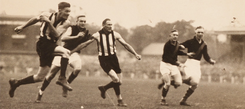 Gordon Coventry kicked 111 goals in 31 finals.