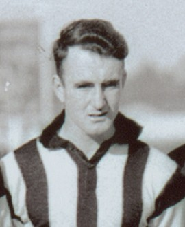 Jack Murphy played 160 games for Collingwood between 1937 and 1947.